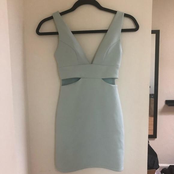 Topshop Dresses & Skirts - Topshop Petite Mint Bodycon Dress Size 0